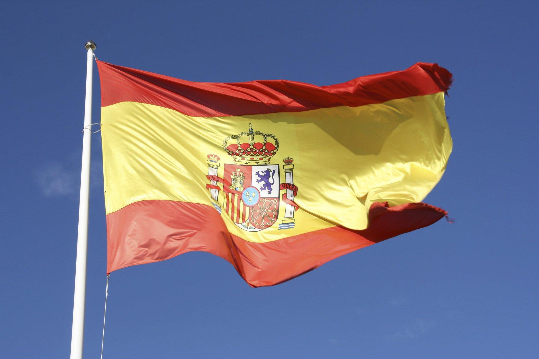 Фото испании флаг